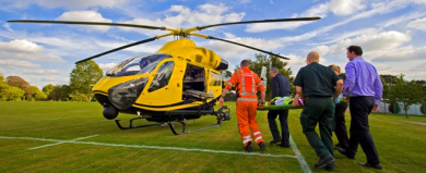Donation to Wiltshire Air Ambulance Charity