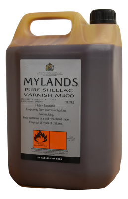 Mylands Pure Shellac Varnish M400