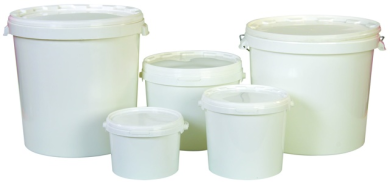 Plastic Bucket (c/w Lid)