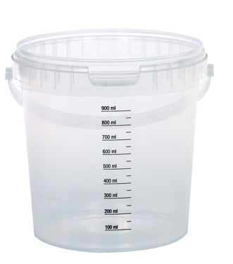 Plastic Calibrated Beaker