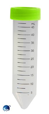 Tube, Centrifuge Conical Base 50ml Foam Racked - ISG (Pk 500)