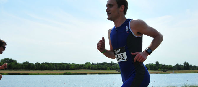 Crispin racing towards his RICS qualification