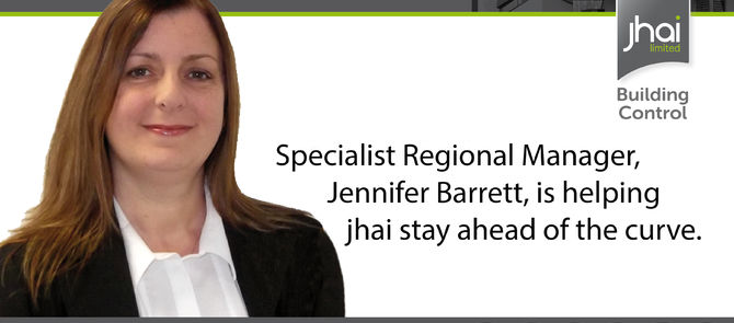 New Specialist Regional Manager Jennifer Barrett is helping jhai stay ahead of the curve