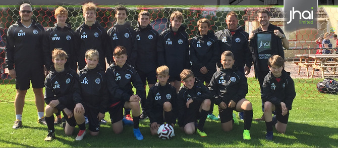 jhai are supporting Honiton Town Youth Football Club under 15's