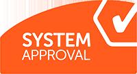 System Approval logo