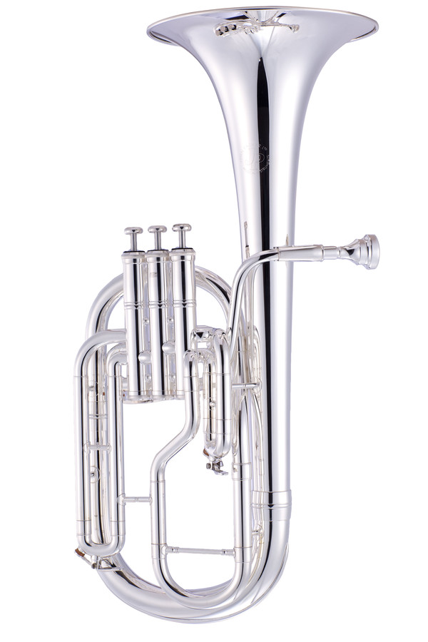 An image of JP072S Eb Tenor Horn Silverplate