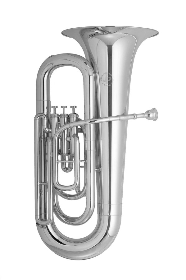 An image of JP077S MkII Tuba Eb Silver Plated