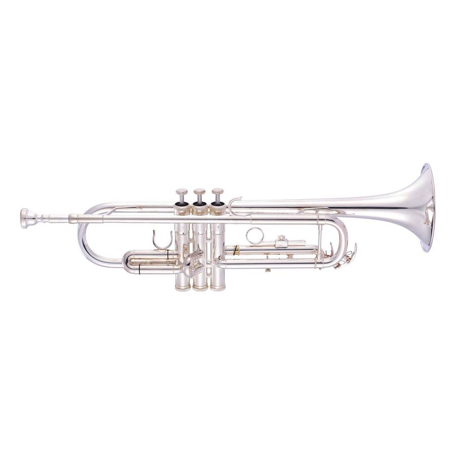 An image of JP051S Trumpet Bb Silver
