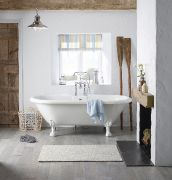 LABC NEW Fairfield double ended roll top bath LR