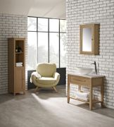 Artisan tallboy unit & 800mm washstand with thin ceramic basin_LIFESTYLE_web