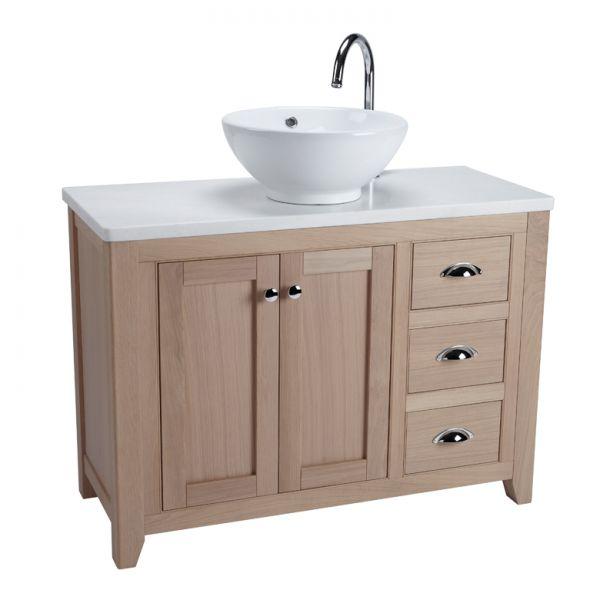 freestanding unit vessel basin laura ashley bathroom collection