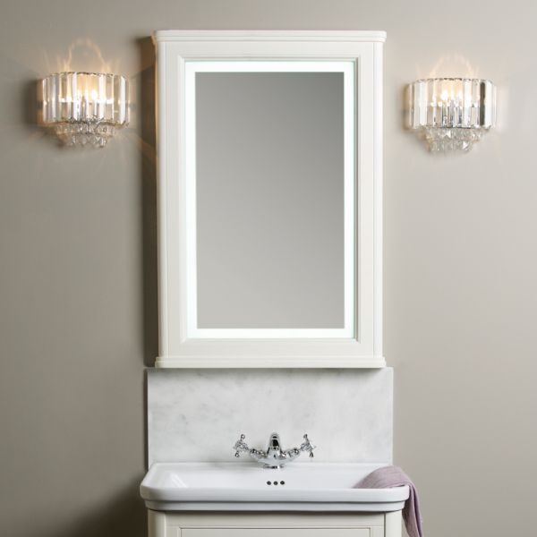 Langham Illuminated Mirror - Laura Ashley Bathroom Collection