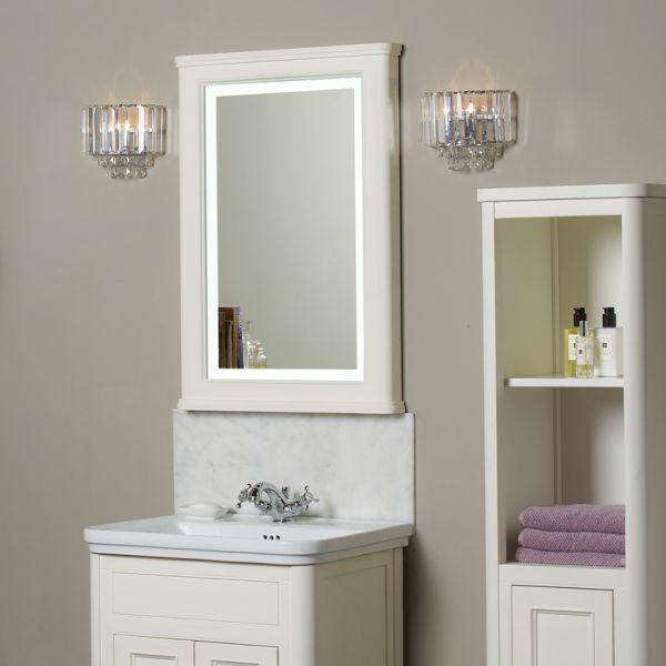 Led demister bathroom mirrors - Langham Illuminated Mirror Laura Ashley Bathroom Collection