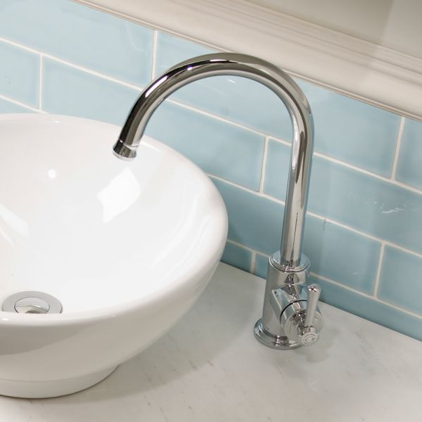 Bathroom Sinks York york side action basin mixer with click waste - laura ashley
