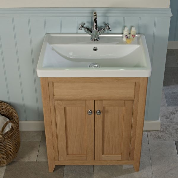 ... 600mm Freestanding Unit & Basin - Laura Ashley Bathroom Collection