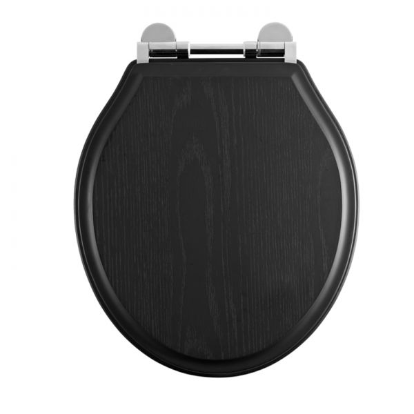 Black Toilet Seat Laura Ashley Bathroom Collection