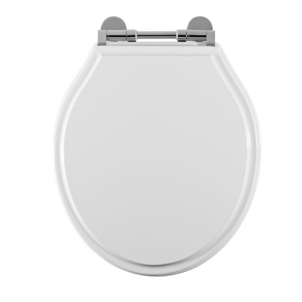 soft close grey toilet seat.  Soft Close Gloss White Toilet Seat Laura Ashley Bathroom Collection