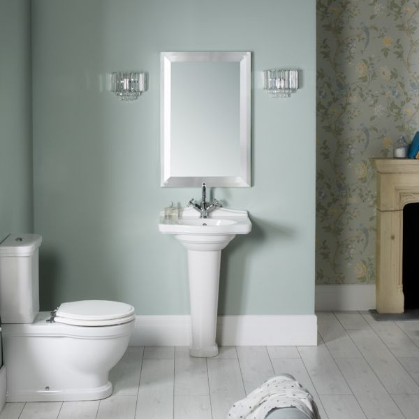 Traditional 600 Mirror Laura Ashley Bathroom Collection