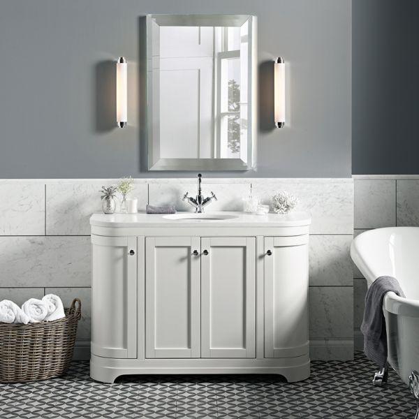 Traditional 600 Mirror Laura Ashley Bathroom Collection