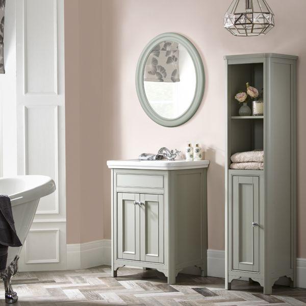 Langham Oval Mirror Laura Ashley Bathroom Collection
