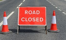 Road Closure Mon 19th Feb to  Weds 7th Mar