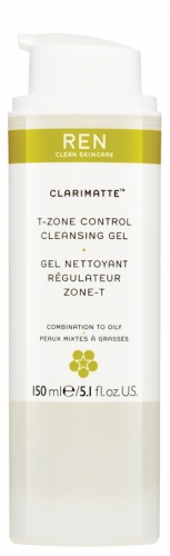 Combination to Oily- Clarimatte T-zone control cleansing gel