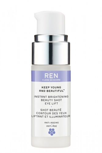 Keep young and beautiful- Instant brightening beauty shot eyes