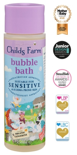 Childs Farm Bubble Bath- Organic Tangerine