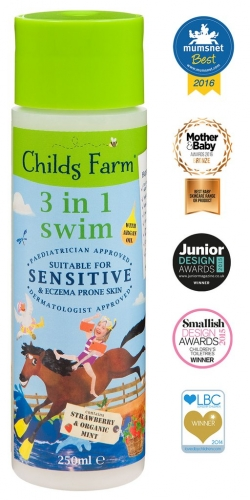 Childs Farm 3 in 1 Swim- Strawberry and Organic Mint