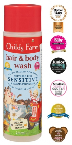 Childs Farm Hair & Body Wash- Organic Sweet Orange
