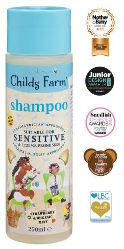 Childs Farm Shampoo- Strawberry and Organic Mint