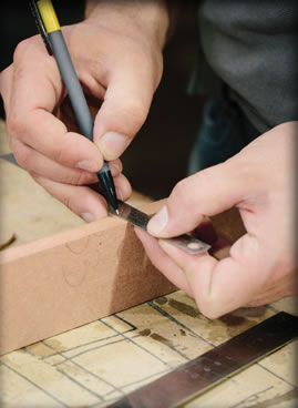 decorating a dolls house