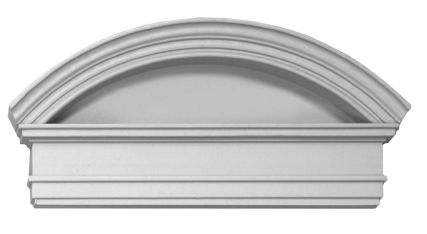 Door pediment