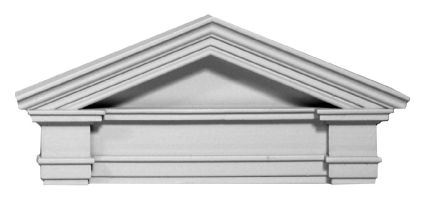 Door pediment