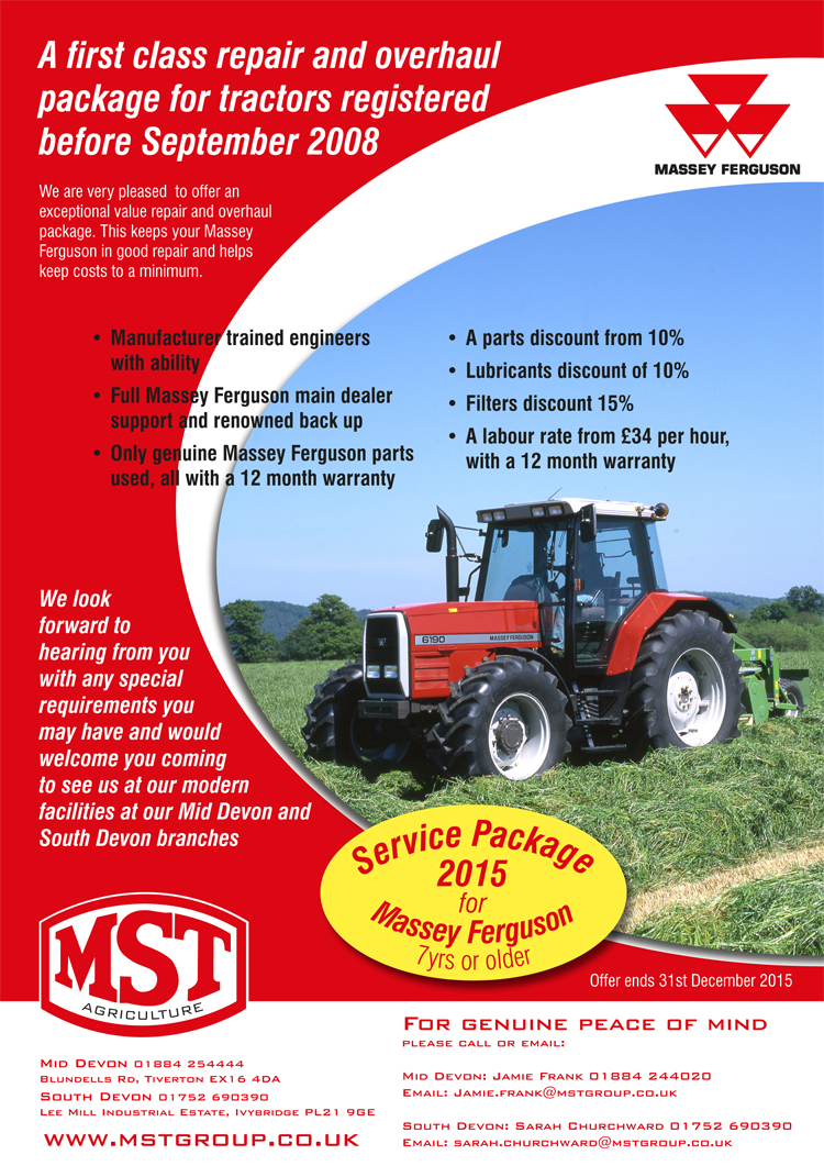 Ag Service Package 2015
