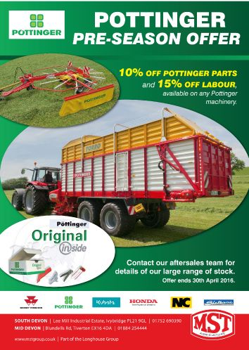Pottinger Pre Season Offer Mar16