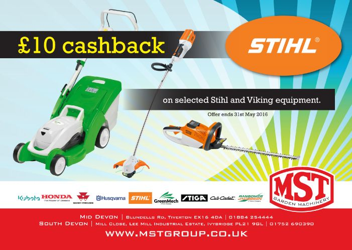 Stihl 10 Cash Back 2016