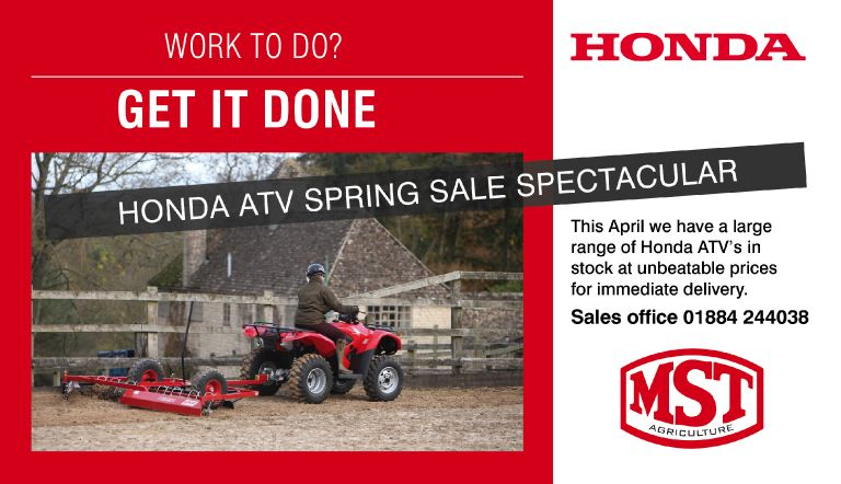 Honda ATV Promo April16