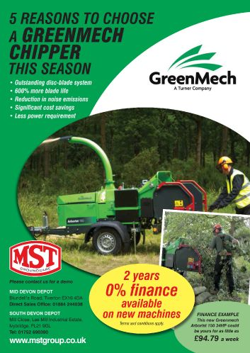 Greenmech Chipper Leaflet 2016