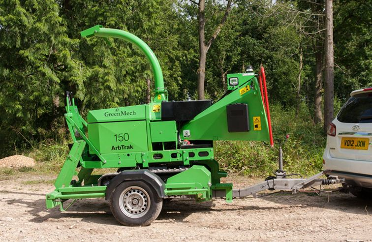 GREENMECH ARBTRACK 150 CHIPPER