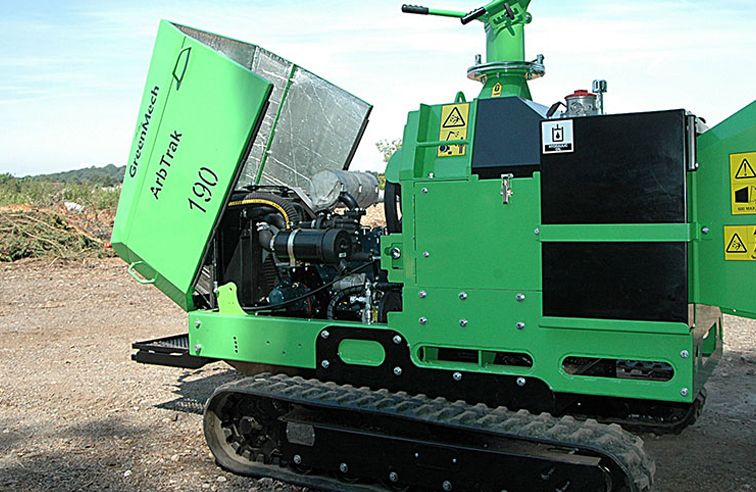 GREENMECH ARBTRACK 190 CHIPPER