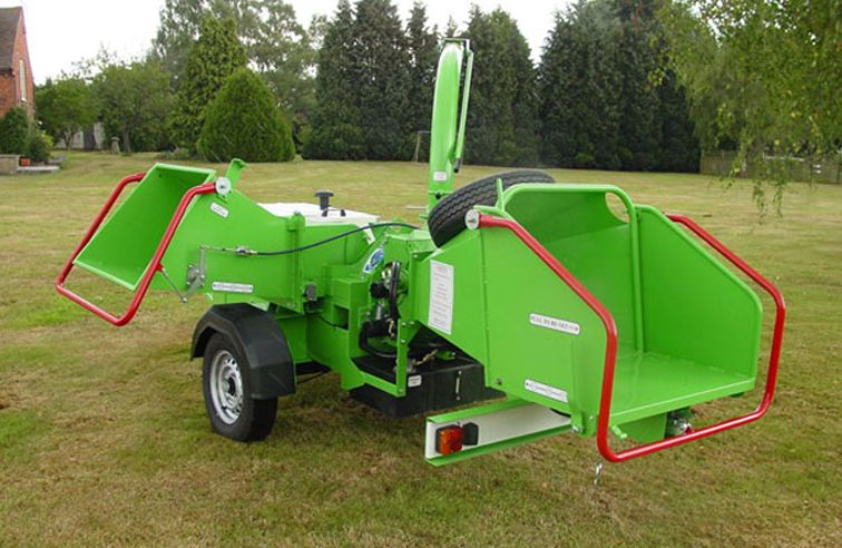 GREENMECH ECOCOMBI ECM150MT35 CHIPPER & GREEN WASTE SHREDDER