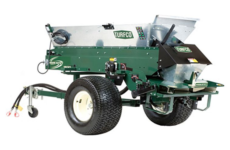 TURFCO WIDESPIN 1530 TRAILED TOP DRESSER