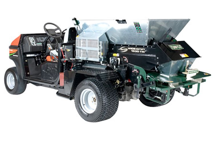 TURFCO WIDESPIN 1530 TRUCK MOUNTED TOP DRESSER
