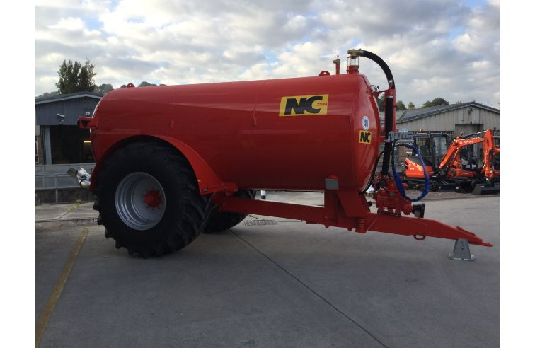 NEW NC 2500 SLURRY TANKER