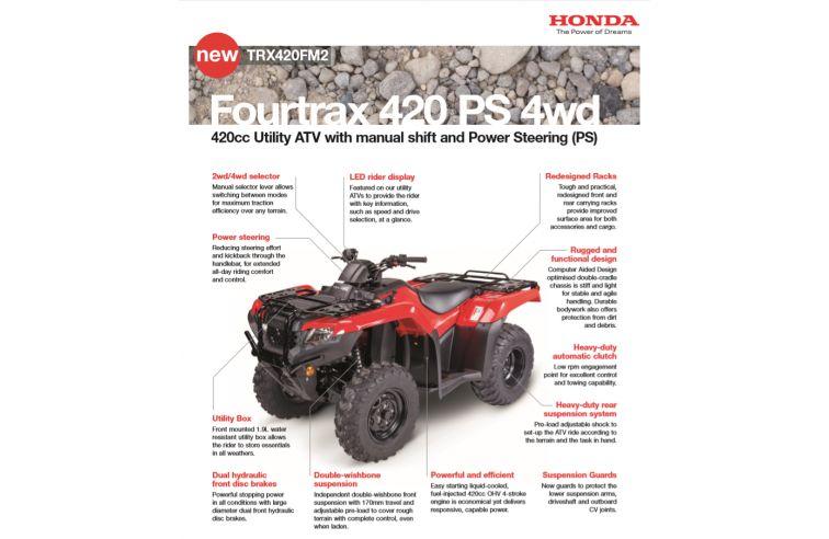 HONDA FOURTRAX 420FM2