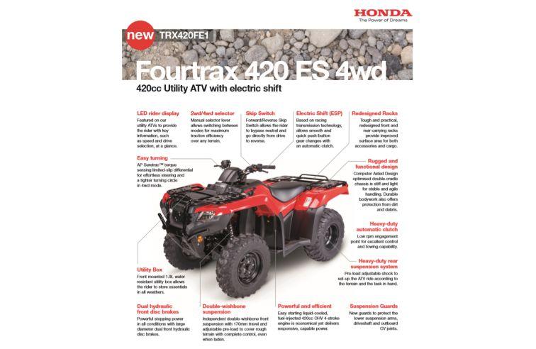 HONDA FOURTRAX 420FE1