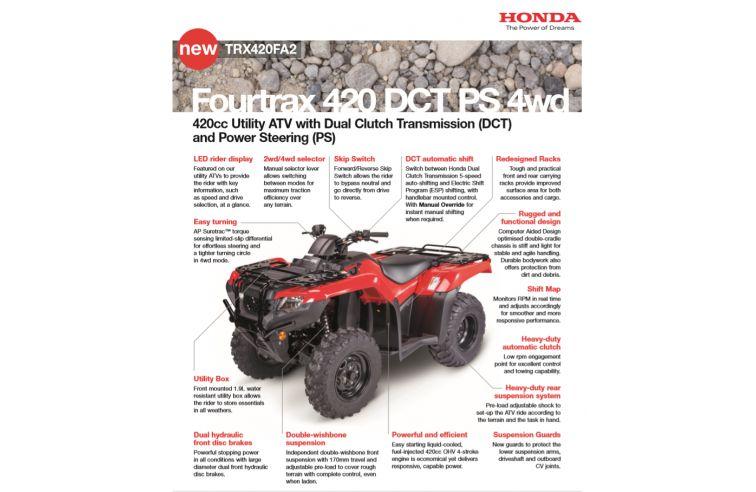 HONDA FOURTRAX 420FA2
