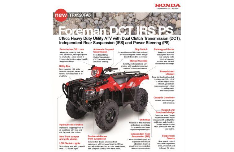 HONDA FOREMAN 520FA6