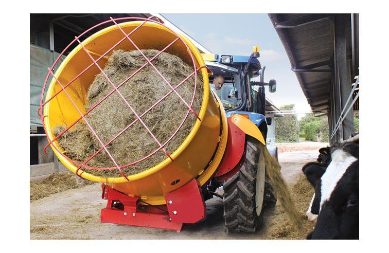 Teagle Tomahawk 4040 - Suitable for 1.2m (4') diameter bales.